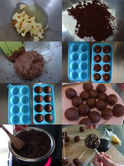 hervé cuisine cake chocolat cake pops tout chocolat moule en silicone la cuisine