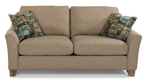 30267 flexsteel furniture dealers gorgeous flexsteel claudine two seater apartment sofa with flared