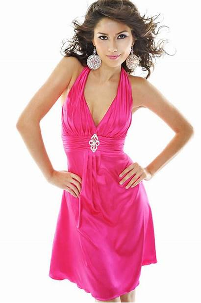 Pink Prom Dresses Short Cocktail Bridesmaid Pretty