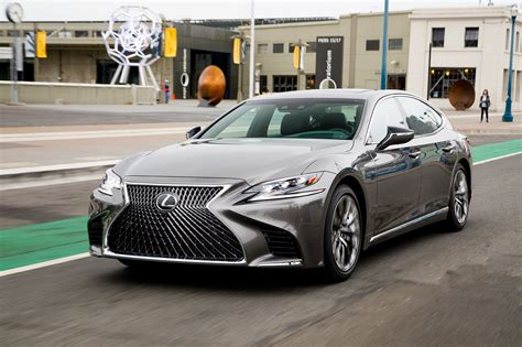 Lexus Ls Picture by 2018 Lexus Ls 500 F Sport Adds Visual Aggression Handling