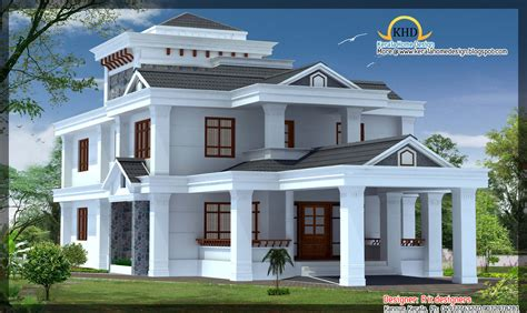 Images Of Model Homes Interiors - 4 beautiful house elevations kerala home design and floor plans