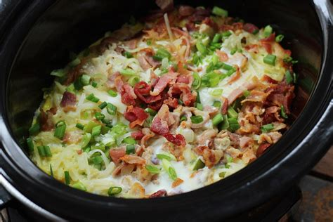 the whole kitchen sink whole30 cooker egg bake with bacon hash browns 6090