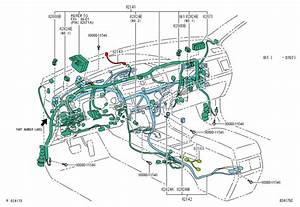 2001 Toyota Highlander Wiring Diagram Original