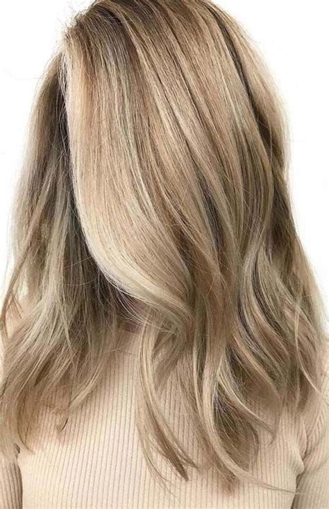 awesome beige blonde hair color trends