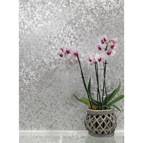 velvet crush foil wallpaper silver wallpaper bm