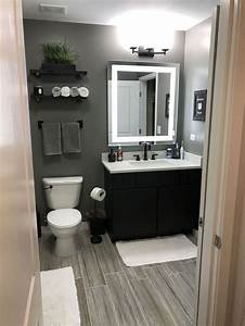 Gray, Bathroom, Decor, Ideas, Small, U2013, Trendecors