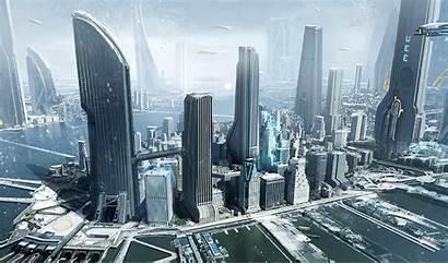 Citizen Star York Futuristic Concept Space Architecture