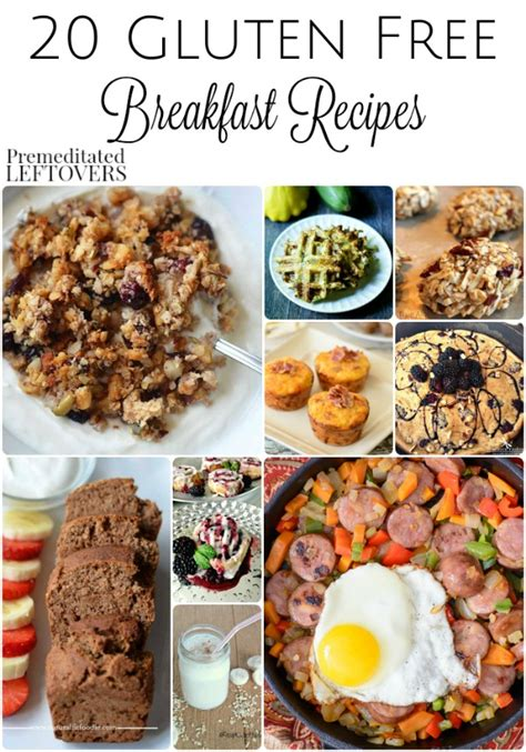 Here are our best breakfast and brunch recipes, focused on keeping mornings wholesome and tasty! 20 Gluten-Free Breakfast Recipes