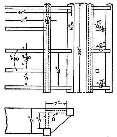 mission furniture    windsor part iii artifact encyclopedia
