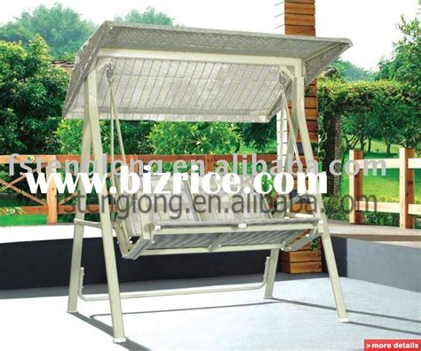 canopy brown design garden patio swing bed china patio