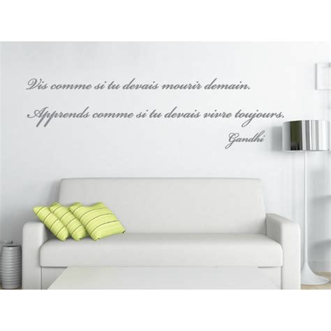 stickers phrase chambre adulte decoration murale chambre adulte 9 sticker citation de