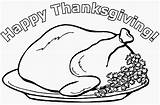 Thanksgiving Coloring Pages Turkey Cooked Happy Printable Dinner Pilgrim Filminspector Getcoloringpages Lots Well Fun Messages sketch template