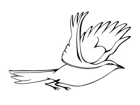 Coloring Pages Birds Flying - Democraciaejustica