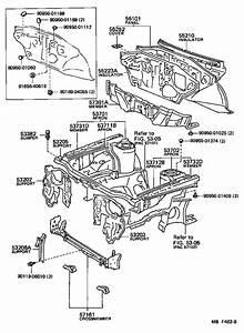 Toyota Corolla Bumper  Hood  Front  Interior  Body