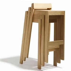 Tabouret En Bois Pas Cher : tabouret 60 cm hauteur design en image ~ Teatrodelosmanantiales.com Idées de Décoration
