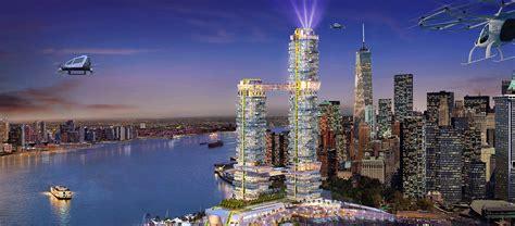 decouvrez pier  le gratte ciel futuriste  ecolo de  york