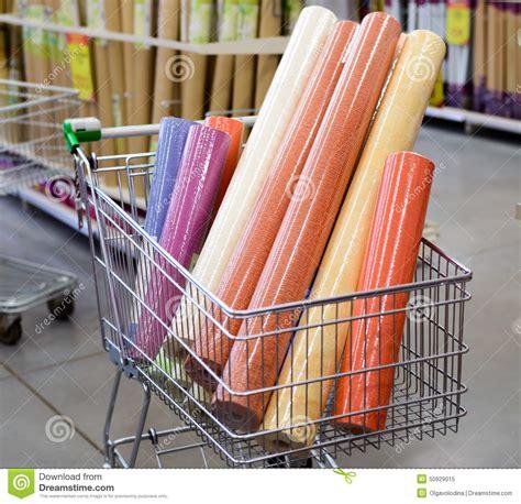 papier peint color 233 dans votre caddie au magasin photo