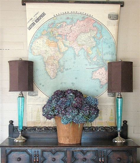 Fascinating Map Decor Ideas That Will Make You Wow