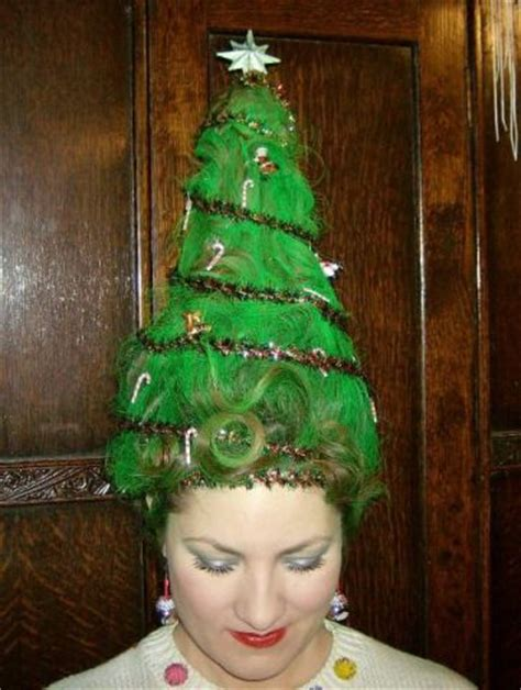 12 holiday hairstyles sure to shock santa