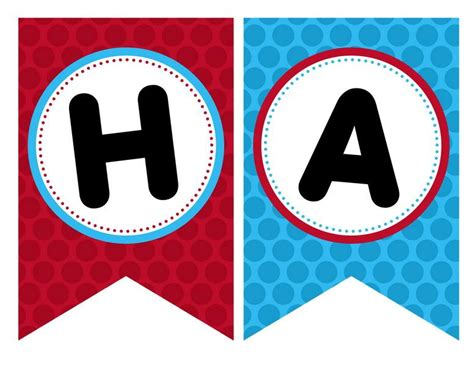 printable happy birthday banner letters printable pages
