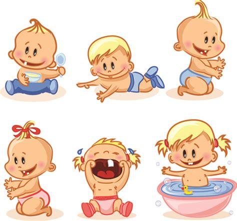 baby cartoon  vector    vector