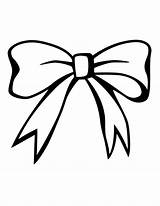 Bow Drawing Bows Coloring Pages Clipart Pink Christmas Library Clip Butterfly Ribbon Stencils sketch template