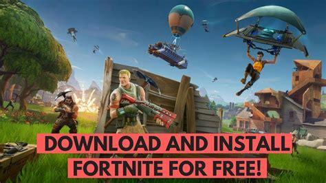 fortnite battle royale  pc  mac youtube