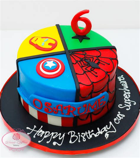 How do i combine them all, help!! The Avengers cake - Dainty Affairs Bakery | Cakes ...