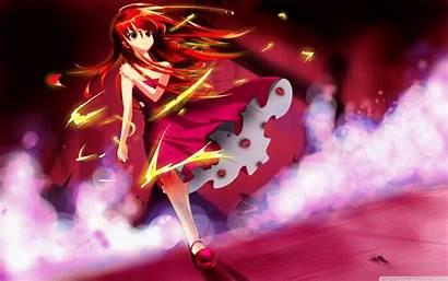 Anime Magic Background Wallpapers Desktop Tablet Wide