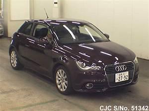 Audi A1 2012 : 2012 audi a1 wine for sale stock no 51342 japanese used cars exporter ~ Gottalentnigeria.com Avis de Voitures