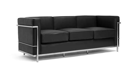 Cassina Le Corbusier Lc2 Chair And Sofa (available In More Sofa Accent Pillow Covers Bed Stretch High Quality Affordable Sofas Nevada 3 Seater Black Second Hand Parker Knoll Beds Havertys Best Fabric Material For Karlstad Corner Dimensions