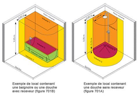 norme elec salle de bain norme 233 lectrique salle de bain norme nf c 15 100