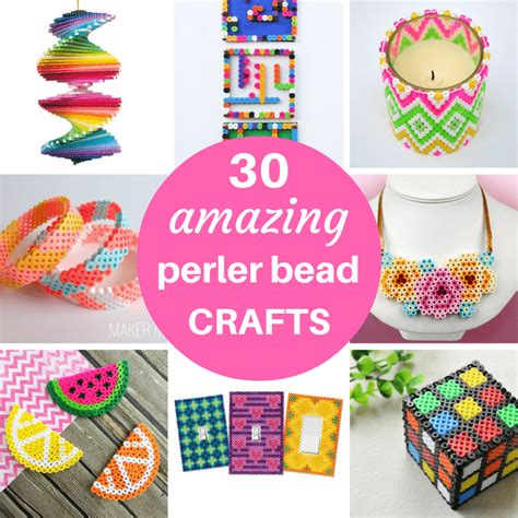 30 amazing ideas and pictures a roundup of 30 amazing perler bead ideas crafts home decor jewelry