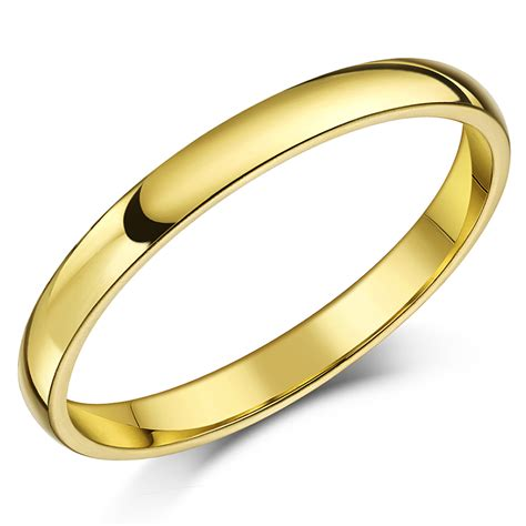 18ct yellow gold quot court shaped quot wedding ring court shape