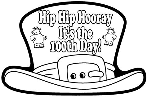 100 Days Of School Coloring Pages  Download Free