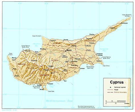 maps  cyprus