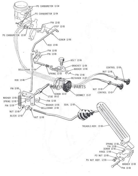 Speedo Wiring Diagram Willy Jeep by Accelerator And Linkage