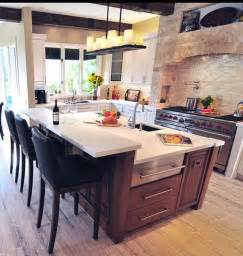 how to design a kitchen island with seating 10 ways to rev your kitchen island