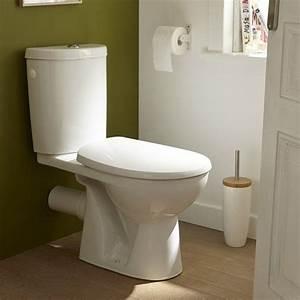 Abattant Wc Clipsable Leroy Merlin : wc poser wc abattant et lave mains leroy merlin ~ Dallasstarsshop.com Idées de Décoration