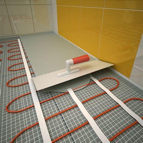 sol chauffant electrique sous carrelage chauffage electrique au sol sous carrelage 100 images dossier le chauffage au sol plancher
