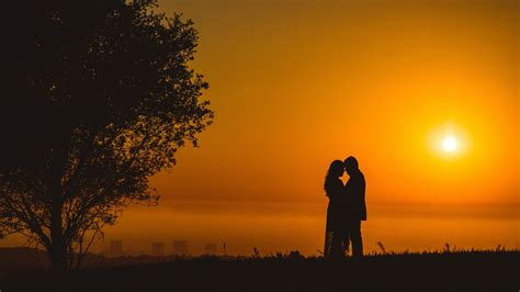 couple romantic sunset  wallpapers hd wallpapers id