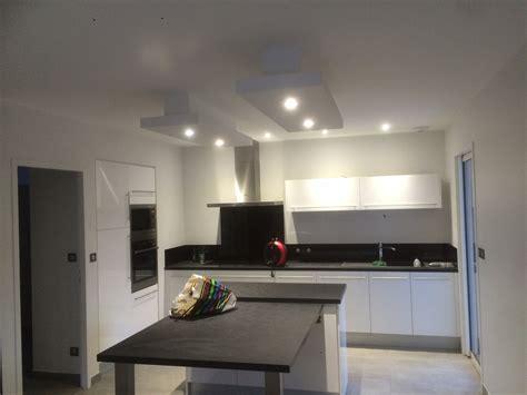 ruban led cuisine plafond déco plafond ruban led descente sur ilot cuisine sarl durou fils hagetmau