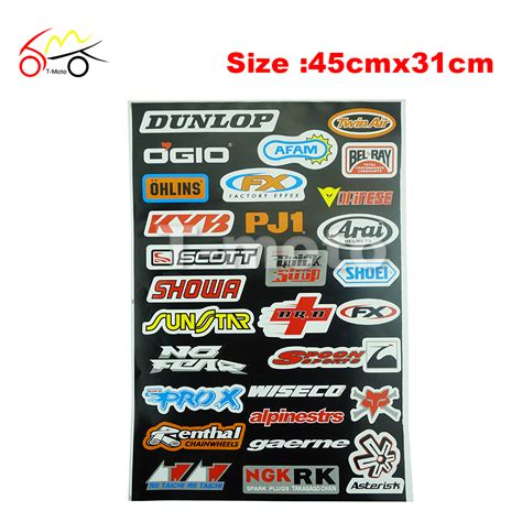 motocross bike brands online buy wholesale scooter brand stickers from china