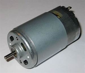 Rs-550pf Motor - 12v Dc - 13 500 Rpm