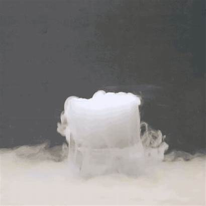 Solid Gas Called Sublimation Conversion Ice Dry