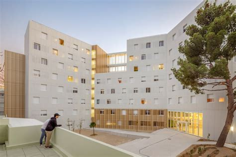A+ Architecture  Lucien Cornil Student Residence 8