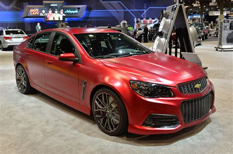 chevrolet jeff gordon ss performance sedan concept sema
