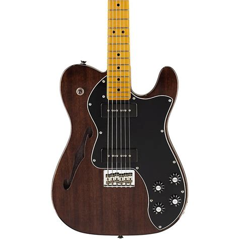 fender modern player telecaster thinline deluxe electric guitar fender modern player telecaster thinline deluxe electric guitar transparent black maple