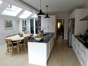 victorian mid terrace side extension extensions With terrace house kitchen design ideas