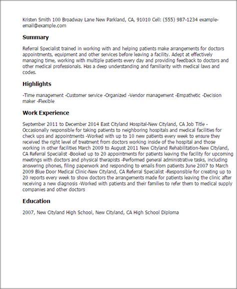 #1 Referral Specialist Resume Templates Try Them Now. Starbucks Manager Resume. Food Service Experience Resume. Bank Manager Sample Resume. Upload Resume Naukri Com. Sales Agent Resume Sample. Award Winning Resume. Resume After Maternity Leave. Sample Resume Legal Secretary